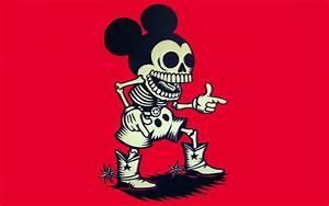 Mickey Mouse dark skulls wallpaper | 1920x1200 | 46671 ...