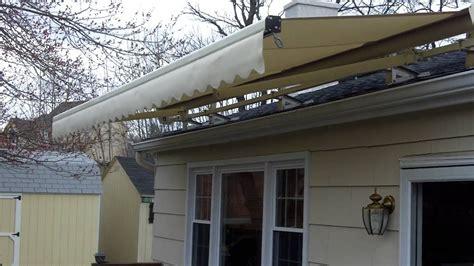 roof mounted motorized awningmov youtube