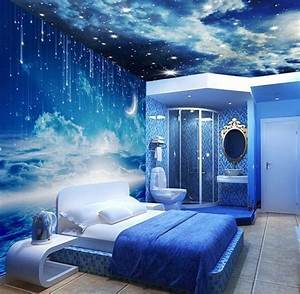 U221a, 15, Incredible, Space, Themed, Bedroom, Ideas
