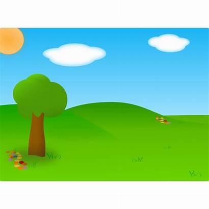 Plain Clipart Cartoon Clip Landscape Cliparts Plains