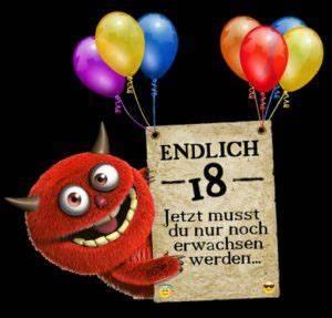 Geburtstagsbilder Zum 18 : freche spr che zum 18 geburtstag einfach kopieren ~ A.2002-acura-tl-radio.info Haus und Dekorationen