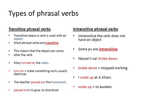 Separable And Inseparable Phrasal Verbs  Ppt Download