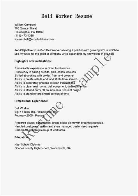Resume Title For Warehouse Worker by Warehouse Worker Resume