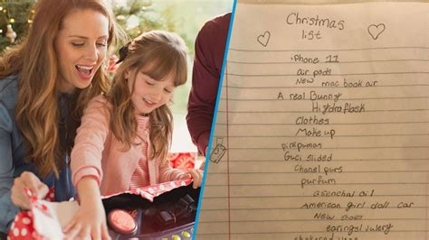 year  girls outrageous christmas present  list