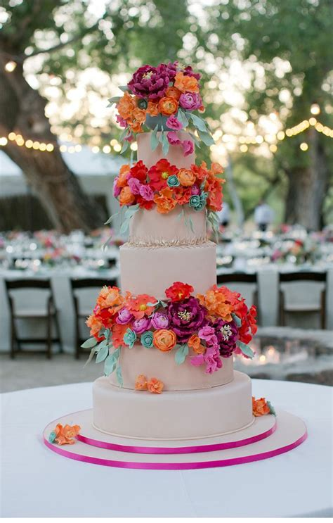 images  colorful wedding cakes  pinterest