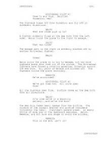 Sample Script Format Example