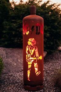 Feuerstelle Aus Gasflaschen : edelrost feuers ule gasflasche acdc dekorativ und ein ~ A.2002-acura-tl-radio.info Haus und Dekorationen