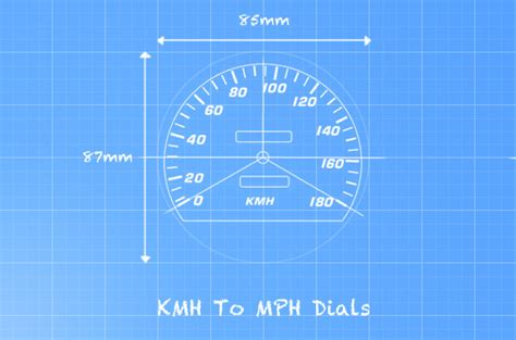 To Mph by Kmh To Mph Conversion Cluster Repairs Uk