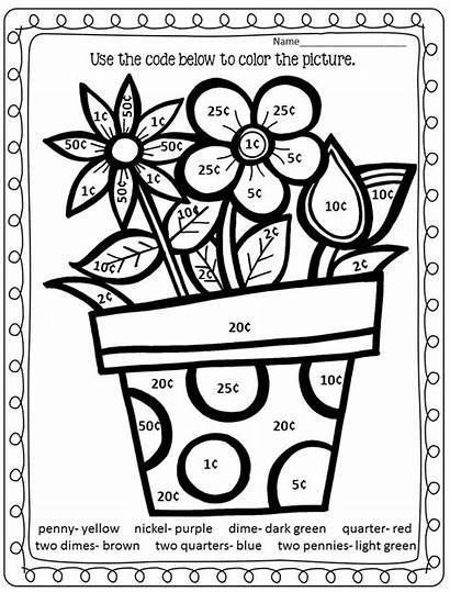Spring Money Galore Coloring Freebie Giveaway Addition