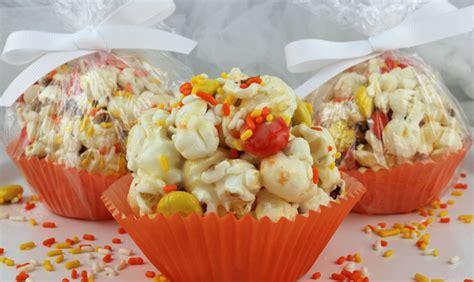 halloween popcorn balls  sisters