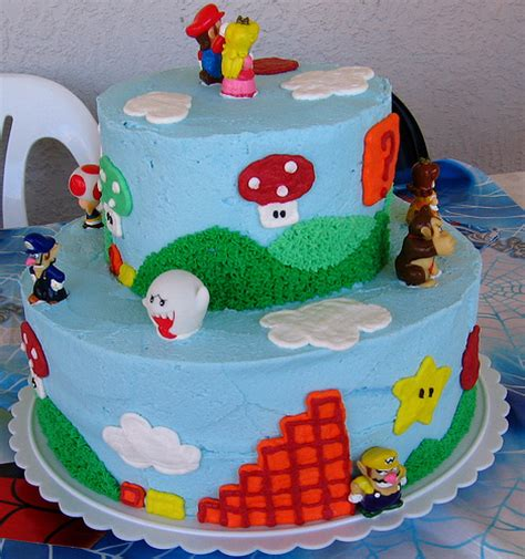 Super Mario Bros Birthday And Wedding Cakes Mumbai