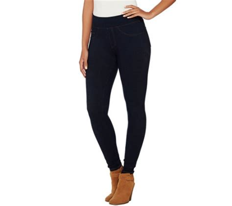 spanx red hot label denim leggings page  qvccom