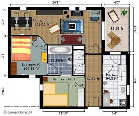 Home Decor Planner : Home Design, Sweet Home Design A Floor Plan Online For