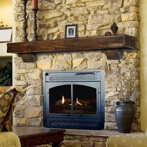 Pearl Mantels 412 Shenandoah Fireplace Mantel Shelf