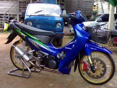 honda wave 125 thai modify style wave125 custom honda