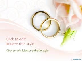 weeding cards free engagement rings ppt template