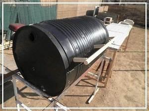 Fabriquer Un Barbecue Avec Un Bidon : diy barbecue bidon d 39 huile 200l barbecue diy barbecue diy en hacks diy ~ Dallasstarsshop.com Idées de Décoration