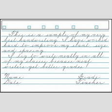 Download Lessons For Cursive Handwriting Template Example For Free  Page 17 Formtemplate