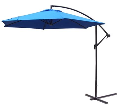Offset Rectangular Outdoor Umbrellas by Patio Umbrellas