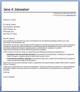 Cover letter for marketing director free resumes tips for Director of marketing cover letter