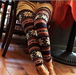 Aztec boots fall fashion leggings - image #422518 on Favim.com