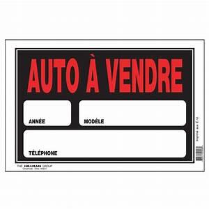 Voiture à Vendre Sur Leboncoin : pancarte auto vendre 8 po x 12 po affiches pancartes canac ~ Gottalentnigeria.com Avis de Voitures