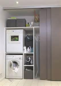installer lave linge dans la salle de bains buanderie c 244 t 233 maison