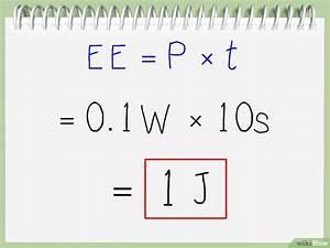 Watt Berechnen Formel : joules berechnen wikihow ~ Themetempest.com Abrechnung