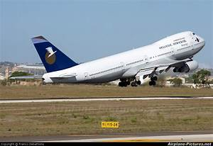 SX-TIC - Hellenic Imperial Airways Boeing 747-200 at Malta ...