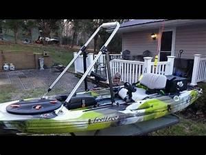 FEELFREE LURE Fishing Kayak Stand Up Bar INSTALL YouTube