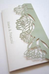 lasercut protea pattern wedding invite by mercia m designs With wedding invitations with protea
