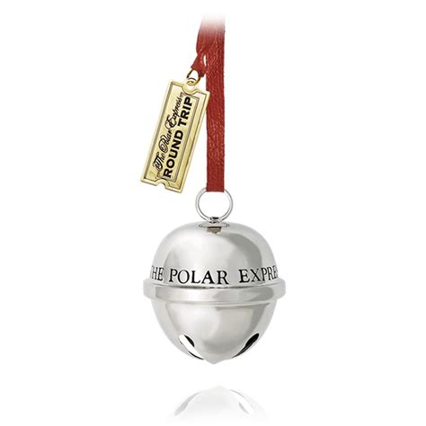 2015 polar express sleigh bell hallmark ornament hooked