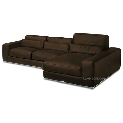 canape d angle luxe canapé d 39 angle de luxe en cuir de vachette matisse verysofa