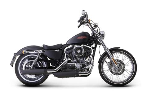 Harley-davidson Sportster Receives Akrapovic Exhausts