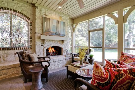 Pictures Of Screened In Porches Exterior Contemporary With