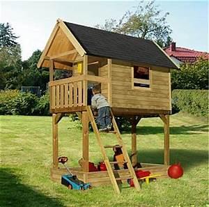 Baumhäuser Für Kinder : baumhaus stelzenhaus mit und ohne rutsche bei ~ Eleganceandgraceweddings.com Haus und Dekorationen