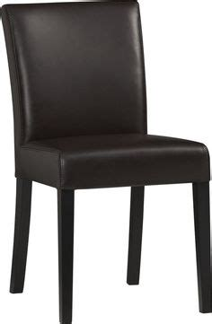 Crate And Barrel Lowe Chair Smoke by Lowe Smoke Leather Dining Chair Side Chairs Smoke And