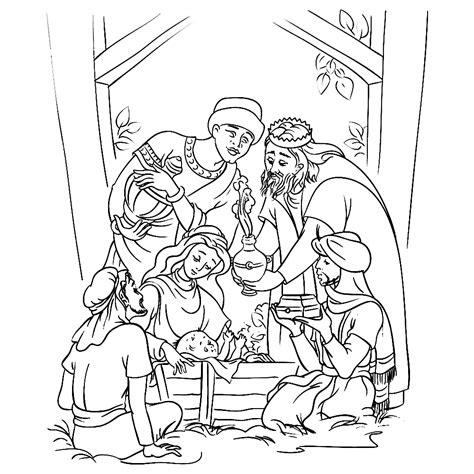 De Wijzen Uit Het Oosten Kleurplaat by Leuk Voor Drie Koningen Bij Jezus