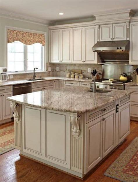 Antique White Cupboards by 25 Antique White Kitchen Cabinets Ideas That Your