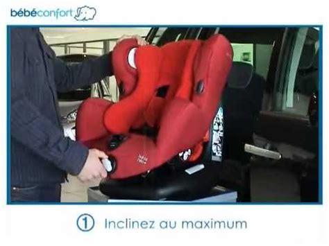 bébé confort siège auto installation dos à la route du siège auto groupe 1 neo de