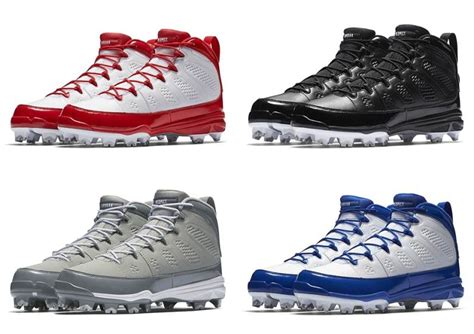 air jordan  retro releasing  baseball cleats