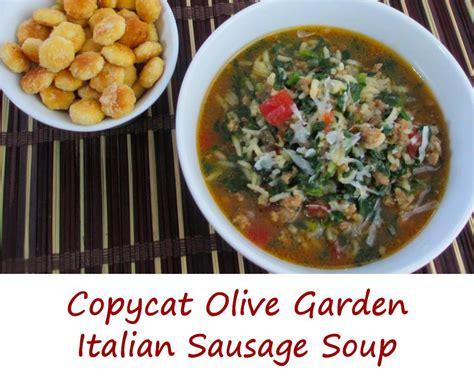 olive garden tuscan soup recipe olive garden italian sausage soup