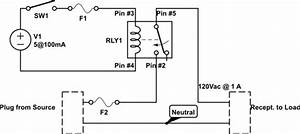 Switches - Wiring A Spdt Relay