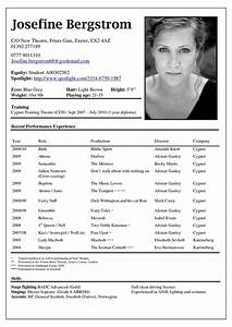 actor resume example best resume collection With actors cv template free