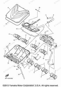 Yamaha Snowmobile 2008 Oem Parts Diagram For Intake