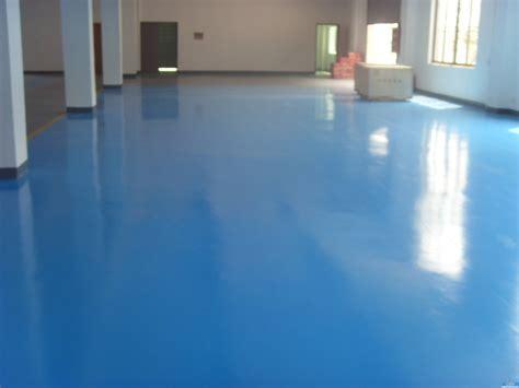 Blue Color Valspar Garage Floor Coating After Makeover