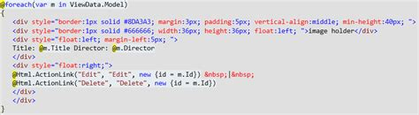 Div Id Css by Html Help With Using Css Id Class Id S Within Mvc3