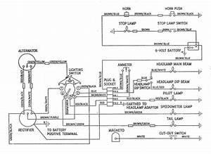 1969 Triumph 650 Bonneville Wiring Diagram