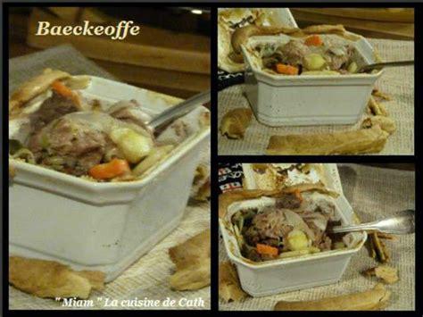 cuisine alsacienne baeckeoffe recettes de baeckeoffe et alsace