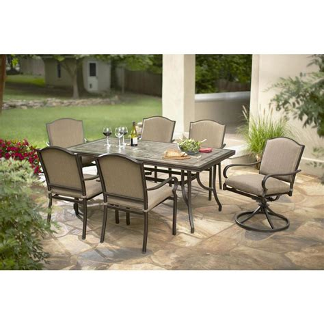 home depot garden table hton bay patio furniture replacement fabric for